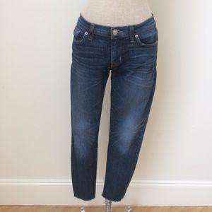 Hudson Krista Super skinny Jean w/ Raw Hem